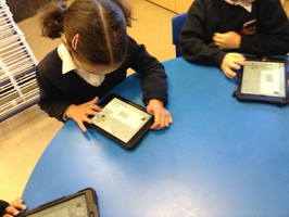Creating stories on the ipads